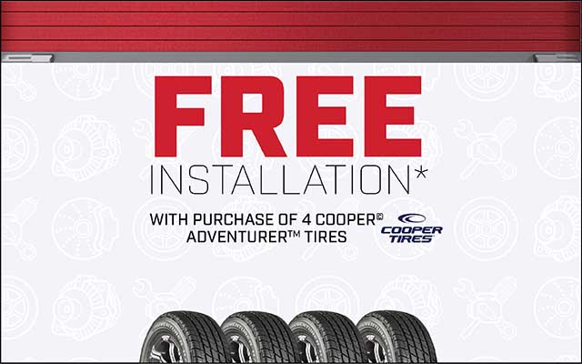 Monthly Tire Deals